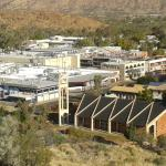 Town of Alice springs.