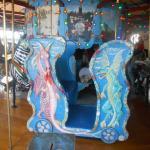 Dragon chariot at Celebration Square Carousel