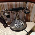 telephone in hotel room