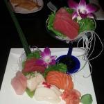 Sashimi at Volcano Restaurant