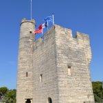 Le haut de la tour pris de la terrasse
