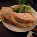 Cheese & mayo sandwich