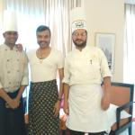 With Chef Israel and Chef Surender in my room