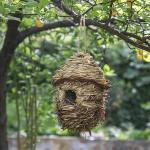 una de las casitas para pájaros