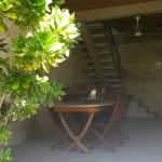 La veranda della casa