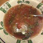 Yuck dirty soup, they didn't wash the kidney beans. Served me this twice.