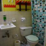 Bathroom inside the room