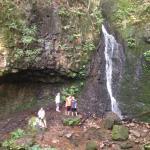 Backbone Rock Waterfall