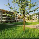 Hotel Artos, Aussenansicht Garten