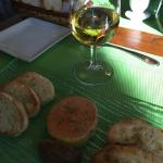 Foie gras with a glass of sauterne