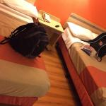 2 double beds same room everywhere in motel 6