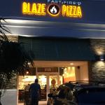 Outside of Blaze in Davie