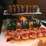Sushi art at its finest! Great atmosphere and great food!
