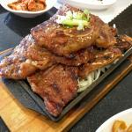 Highly recommend the Galbi - Korean beef spare ribs