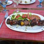 Beef Filet & Mushroom Brochette - Brocheta de Filete de Res 180 grs. y Champiñones