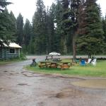 The BASE CAMP BAR on a rainy day in July