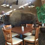 Large Buffalo  in main dining room