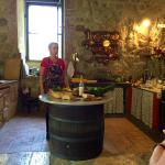 Cooking lesson in the 900 year old mill