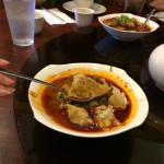 spicy dumplings--finger lickin' good
