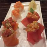 Dinner was out of this world and Ivan our sushi master, made some crazy good plates. The fist ph