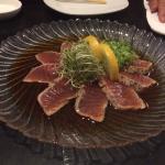Tuna Tataki, delicious!