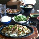 Our delicous dinner at Sushi Eh