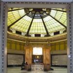 Le grand Hall du Fairmont Peace