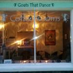 Goats That Dance. The Independent Coffee room