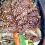 Chicken teriyaki was delicious!