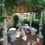 Gazebo outside area by Petit Paris Room 4