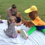Entertainers children's picnic