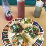 Carnitas, Carne Asada and Chicken Tacos at Taco Viva