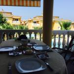 Breakfast set up in Kusadasi villa