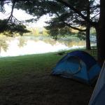 Tent site #8