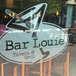 Bar Louie door