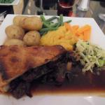 Beautiful steak pie