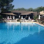Swimming pool by Restaurant Olivier