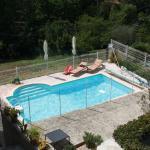 la super piscine ensoleillée