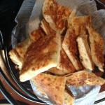 Russo's Flatbread sticks.....you could fill up on these alone