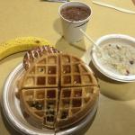 Great breakfast at the Hampton Inn