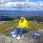 Hike to Kapan Mountain Lookout.  Heidy was our knowlegable guide