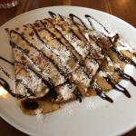 The Nutella pancake, to die for!