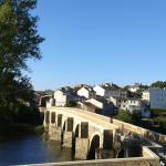 Lugo. Puente romano sobre el Miño