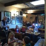 Great music at O'Connor's Pub, Doolin.