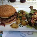 Burger charolais au foie gras