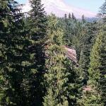 View of Mt. Hood from balcony of Grand Lodge unit
