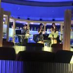 Band in Sky Dome Bar