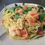 delicious seafood pasta dish