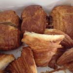 Compared B. Patisserie butter croissant to Arsicault. Arsicault larger flakier, more delicate. B