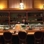 The sushi here is very good obviously they have been making sushi for a long time. The prices ar